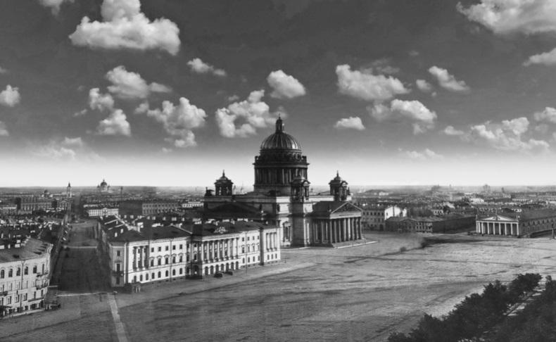 Причины безлюдья на панораме Санкт-Петербурга. 1861 или 1865?