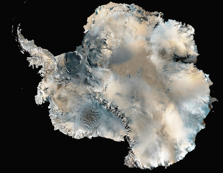 Вращение Антарктического ледяного щита