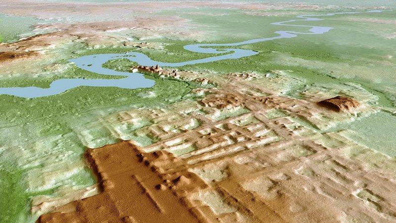 Ориентация монументального комплекса майя — Агуада Феникса — и его датирование учёными UNAM