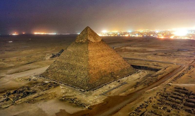 Парад константы Фейгенбаума. Пирамиды Египта и Сианя.